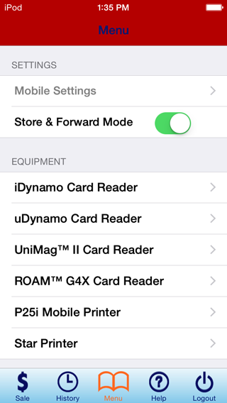 Enable Store & Forward Mode